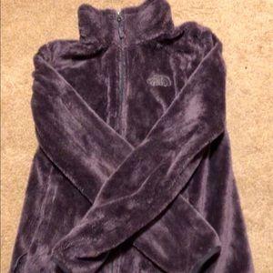 North face purple comfy jacket